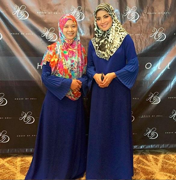 koleksi fesyen jubah abaya artis