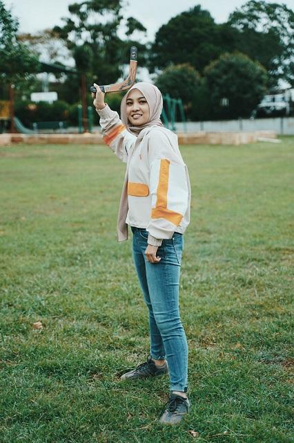 gaya fesyen Nabila Razali