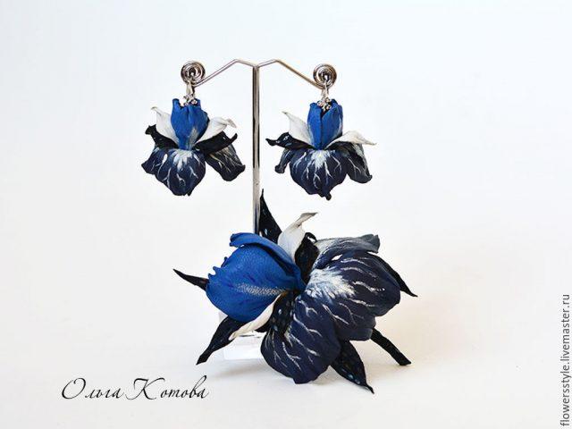 tema warna biru klasik serlahkan wanita