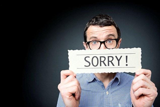 suami minta maaf