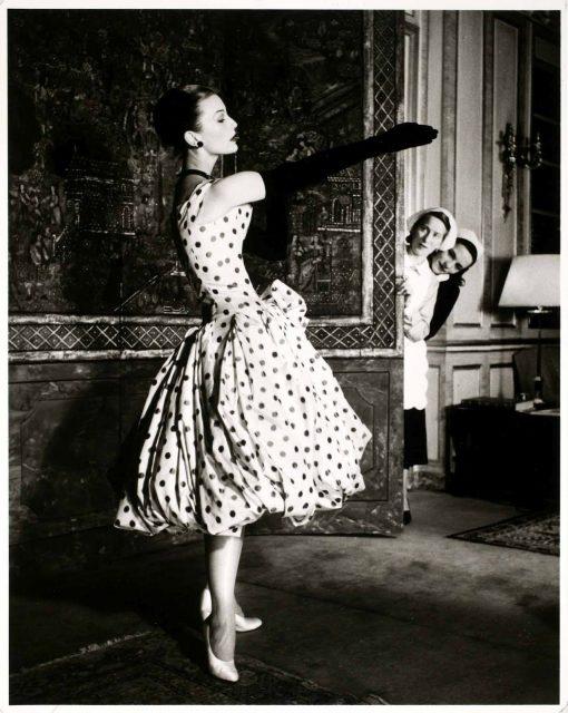sejarah fesyen polka dot