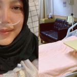 """""""Akhirnya Saya Mengalah"""" – Tahan Sakit Sampai Tak Tidur, Elyana Dimasukkan Ke Hospital"""